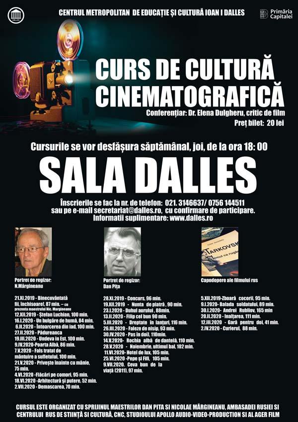 Curs de Cultură și educație cinematografică