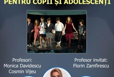 Curs de actorie și dezvoltare personală pentru copii și adolescenți