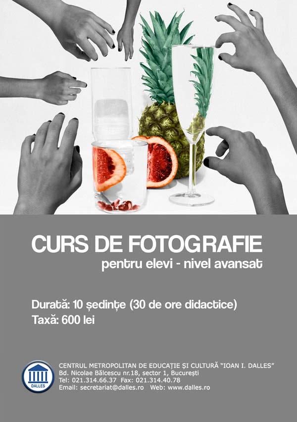 Curs de fotografie pentru copii și adolescenți (10+) - avansati