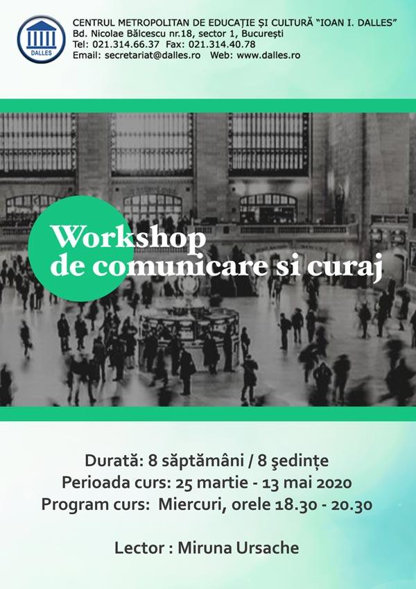 Workshop: Comunicare și Curaj