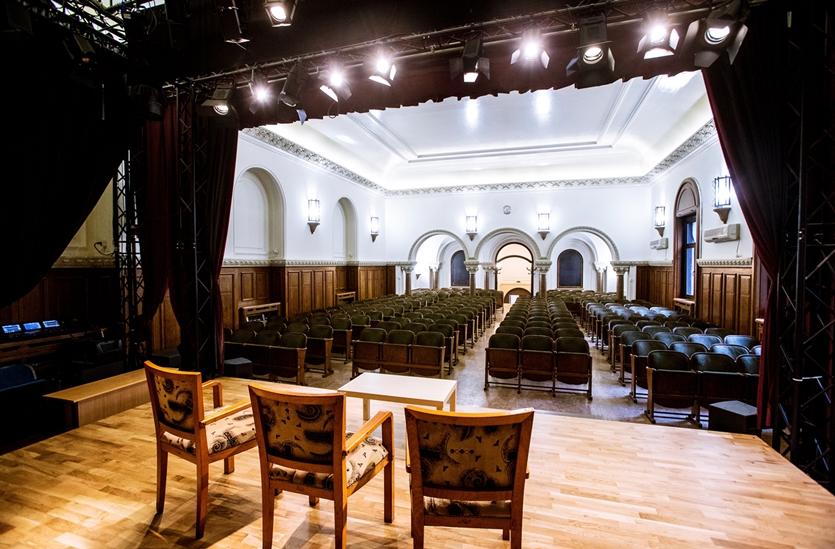 """Închiriere Sala I.C. Brătianu - Centrul Metropolitan de Educație și Cultură """"Ioan I. Dalles"""""""
