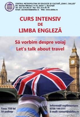 Vara la Dalles – Curs intensiv de limba engleză