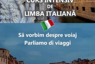 Curs intensiv de limba italiană