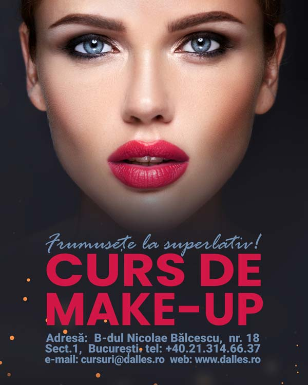 Curs de Make-Up la CMEC Dalles