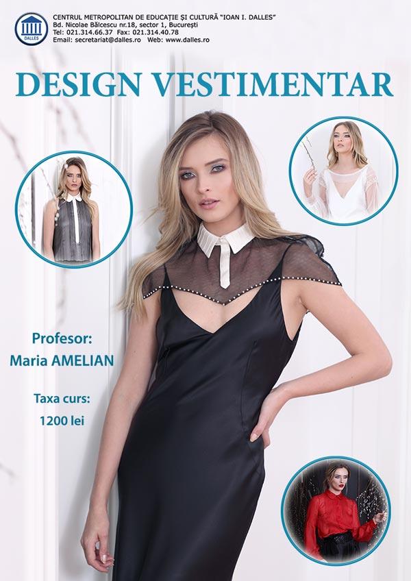 Curs de Design Vestimentar - Stil și Atitudine în Modă