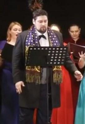 "Concert de colinde – Alin Stoica & Corul Academic ""Divina Armonie"", partea I"
