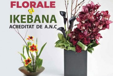 Curs de Aranjamente florale si ikebana – Modul 2021
