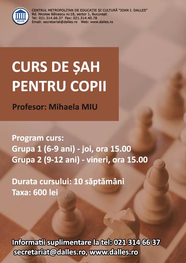 Curs de Șah pentru copii