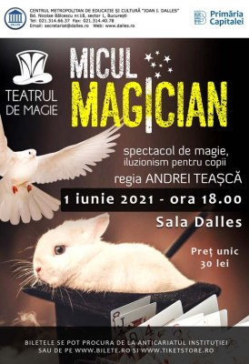 "<span class=""entry-title-primary"">Micul Magician – spectacol de magie pentru copii</span> <span class=""entry-subtitle"">1.06.2021, ora 18.00</span>"