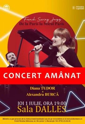 "<span class=""entry-title-primary"">French Swing Jazz and Tango – De la Paris la Micul Paris</span> <span class=""entry-subtitle"">1.07.2021, ora 19.00 - AMÂNAT</span>"