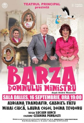"""<span class=""""entry-title-primary"""">Barza domnului ministru</span> <span class=""""entry-subtitle"""">16.09.2021, ora 19.00</span>"""